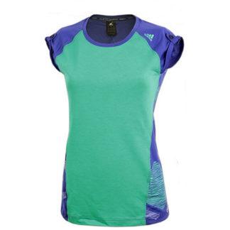 ŽENSKA MAJICA Ženska fitnes majica Adidas W ED FUNC BOU T S10218